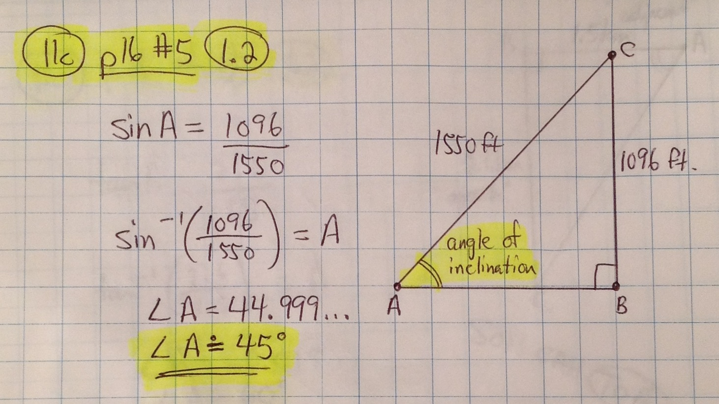 Worksheet Three Digit Word Problems need math help grade 11 mathematics ontario canada 1 2 angles in right triangles pg13 page 15 question 1b solution notes download 16 5 download