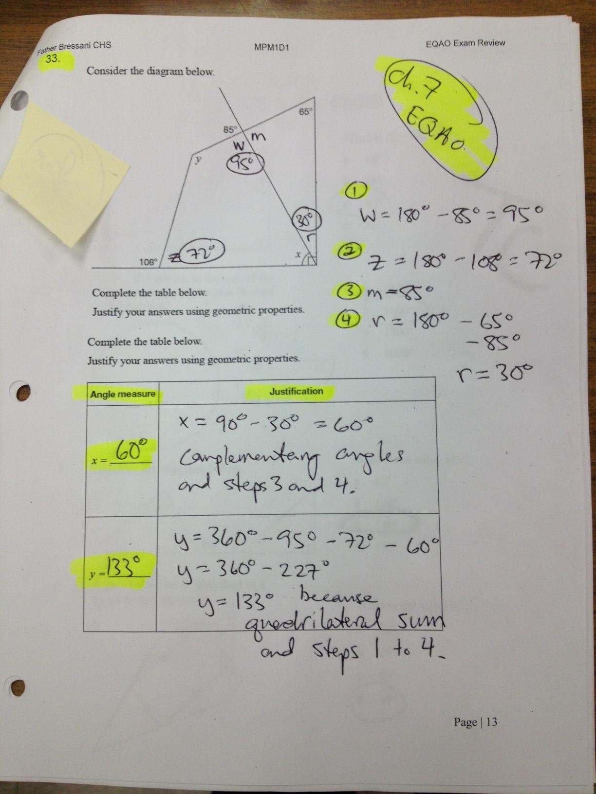 EQAO Preparation April 2012: Resources for Teachers