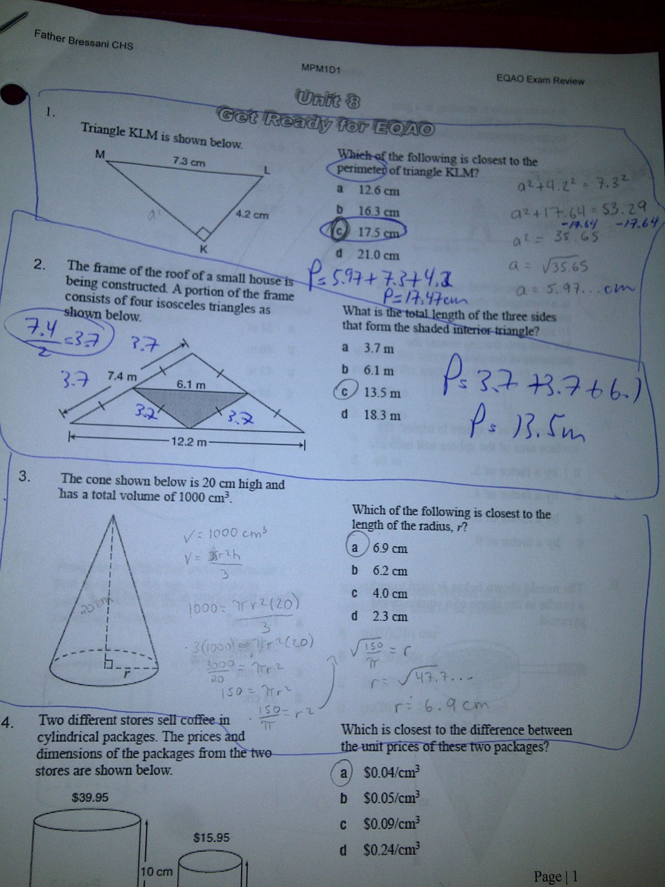 needmathhelp.com ... grade 9 mathematics ... The path is full of ...