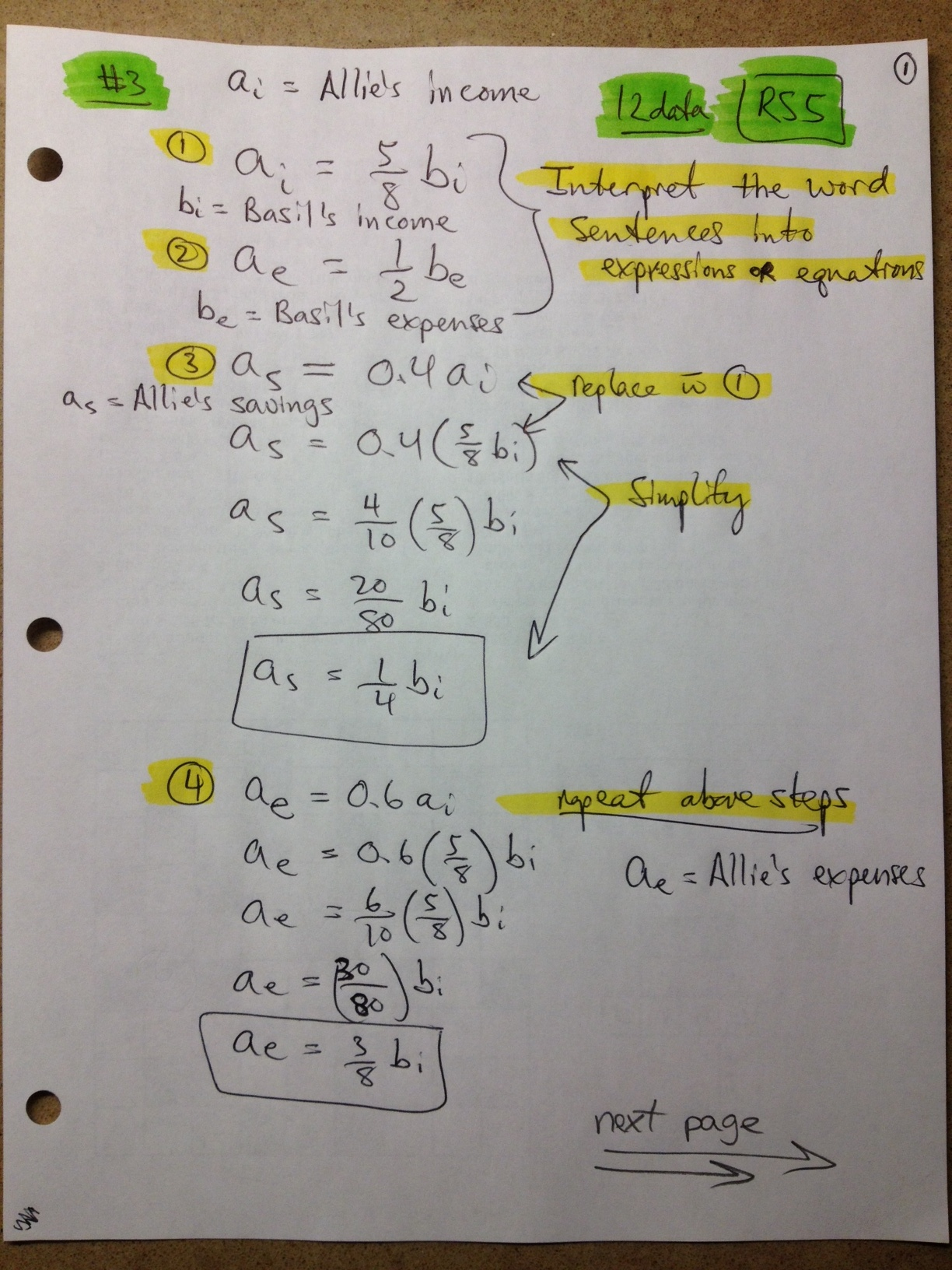 Need Math Help Grade 12 Mathematics Ontario Canada Notes Formulas And Diagrams Alternate Solution For Question 3 Page 1 Download